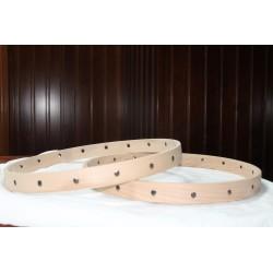 12''-305mm aros madera...